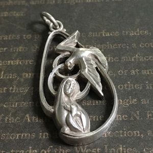 CREED Co. Sterling Silver Madonna Pendant